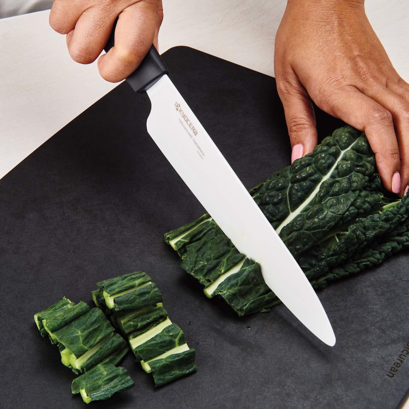 Kyocera FZ-4PC WH-BK Innovation Series Ceramic Knife, 7''/5.5''/5''/4.5'', WHITE by Kyocera (Image #3)