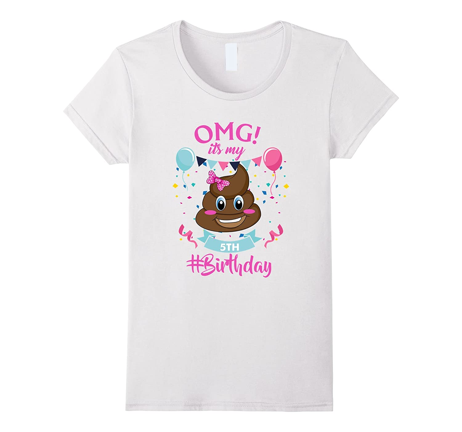 Kids Emojis Birthday Shirt White-Awarplus