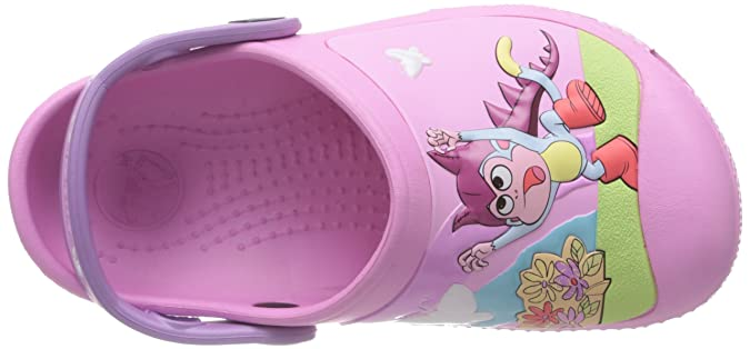 b5f95a858c08 Crocs Creative Dora Butterfly G Carnation Iris Mules And Clogs Sandal  14045-6Q4-125 13 UK 12 13 Child UK  Amazon.co.uk  Shoes   Bags