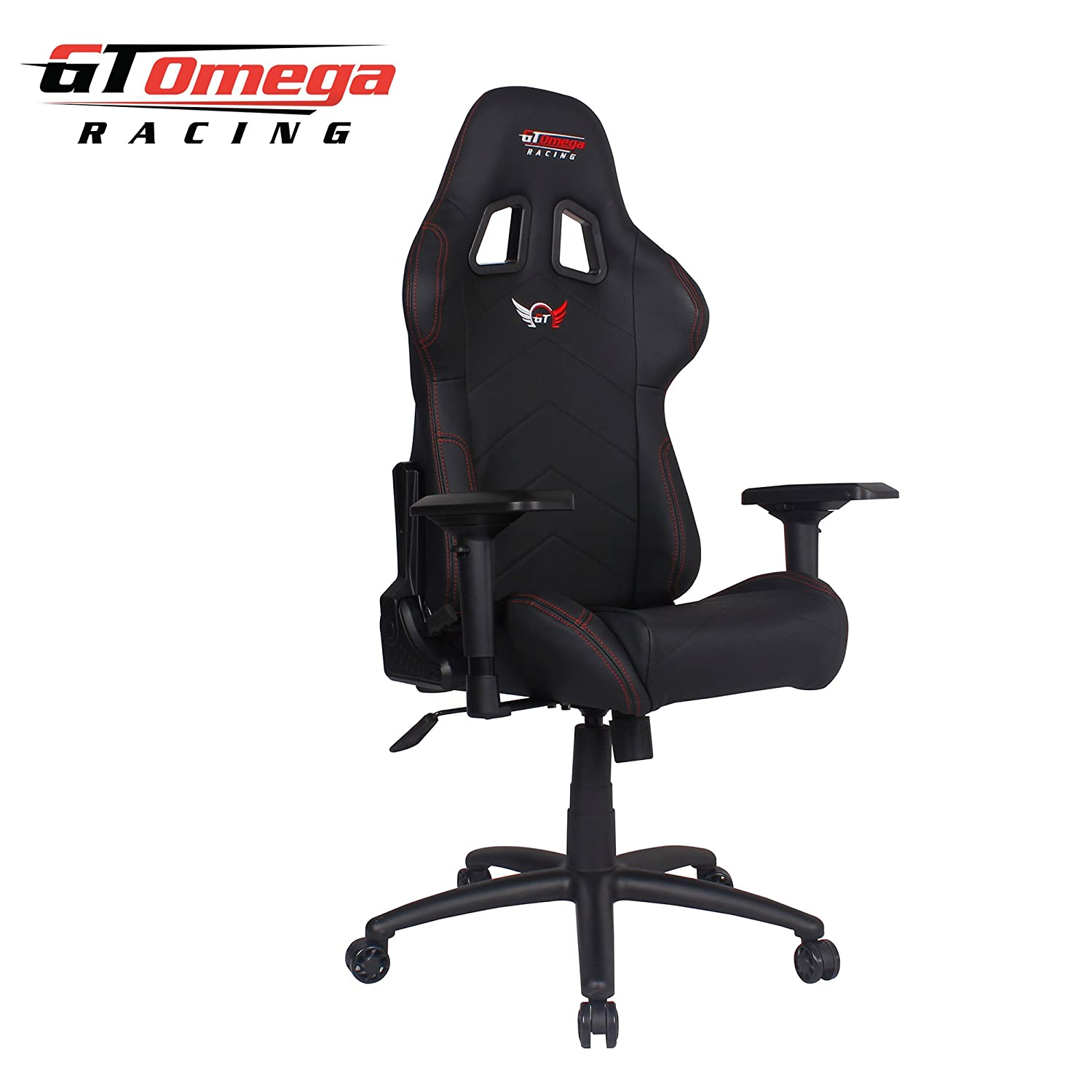 Amazon GT Omega PRO Racing fice Chair Black Leather
