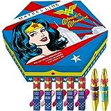 Maybelline New York Collezione Wonder Woman, Cofanetto Edizione Limitata con 2 Mascara e 5 Rossetti Liquidi