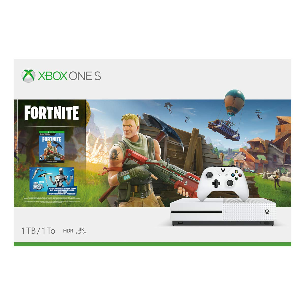 Xbox One S 1TB Console - Fortnite Bundle (Discontinued) by Microsoft (Image #9)
