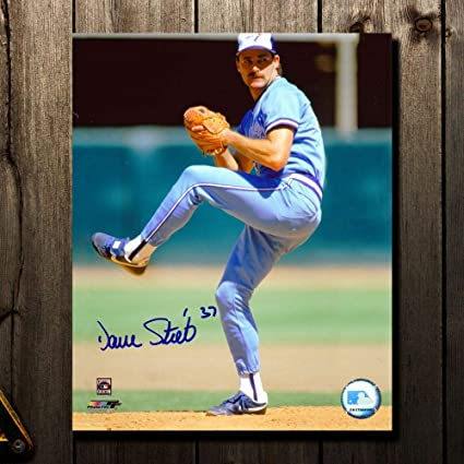 e215fb460ba Image Unavailable. Image not available for. Color  Signed Dave Stieb ...