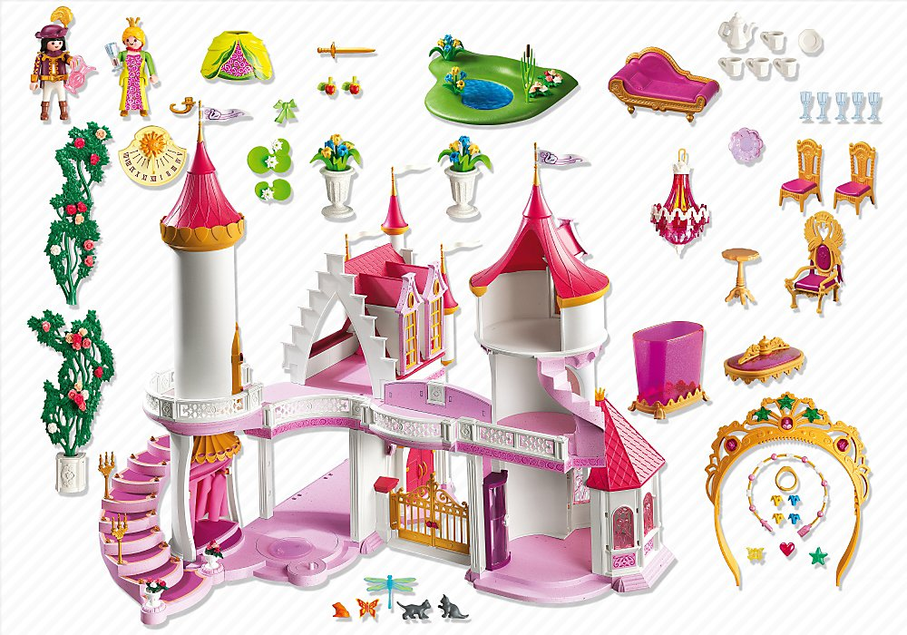 Playmobil princess fantasy castle amazon co uk toys games