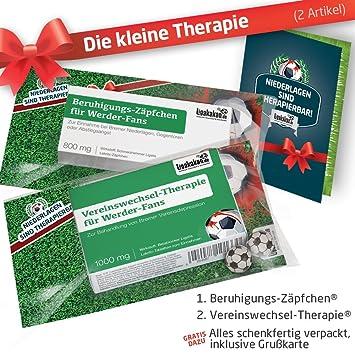 Die Kleine Therapie für Bremen Fans   2X süße Saison Schmerzmittel