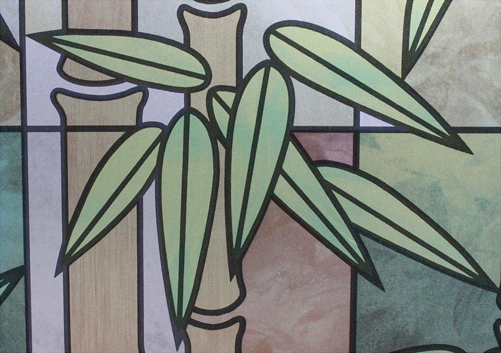 Homeartist竹ガラスの装飾つや消しプライバシーウィンドウフィルム3 ft x 165 FT B00CBF4742