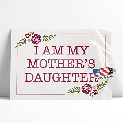 Amazoncom Neonblond Large Poster I Am My Mothers Daughter