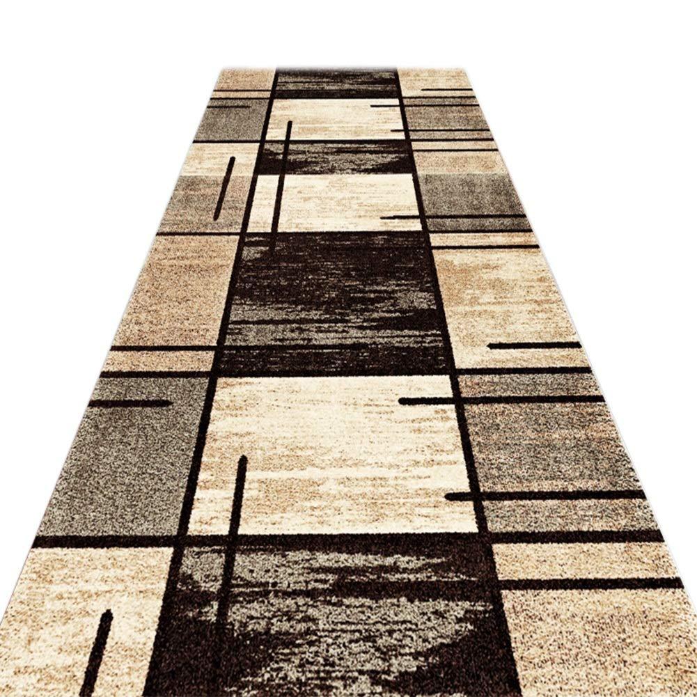 JIAJUAN Läufer Teppiche Flur Teppich Rutschfest Pflegeleicht Küche Halle Gang Gang Gang Fußboden Matte, 7mm, 2 Farben, Mehrere Längen, Anpassbare (Farbe   A, größe   0.8x4m) B07L26GL48 Lufer bfe1fc