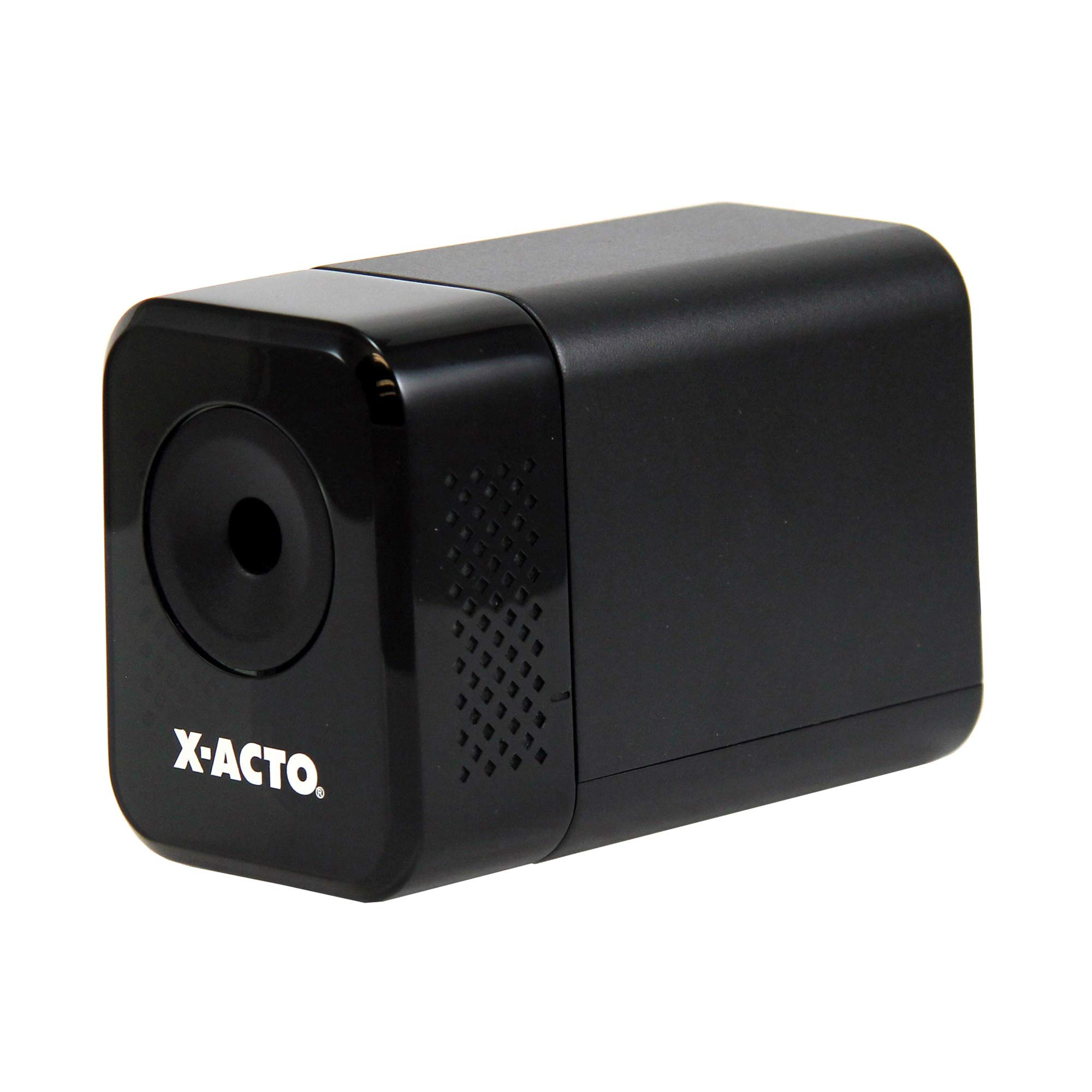 X-ACTO Electric Pencil Sharpener | XLR Heavy Duty Electric Pencil Sharpener, Quiet Motor, Pencil Saver Technology, Auto-Reset and Safe Start by X-Acto