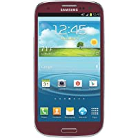 Samsung Galaxy S3 I747 16GB Unlocked GSM 4G LTE Android Smartphone - Red