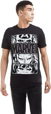Marvel Hero Eyes Light Camiseta para Hombre