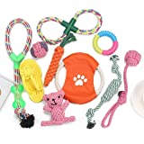 Dog Toy Gift Box-Pet Interactive Dog Leash Toy Starter Set Toys for Small Dogs-Rope Dog Toys-Rope Dog Toys for Medium…