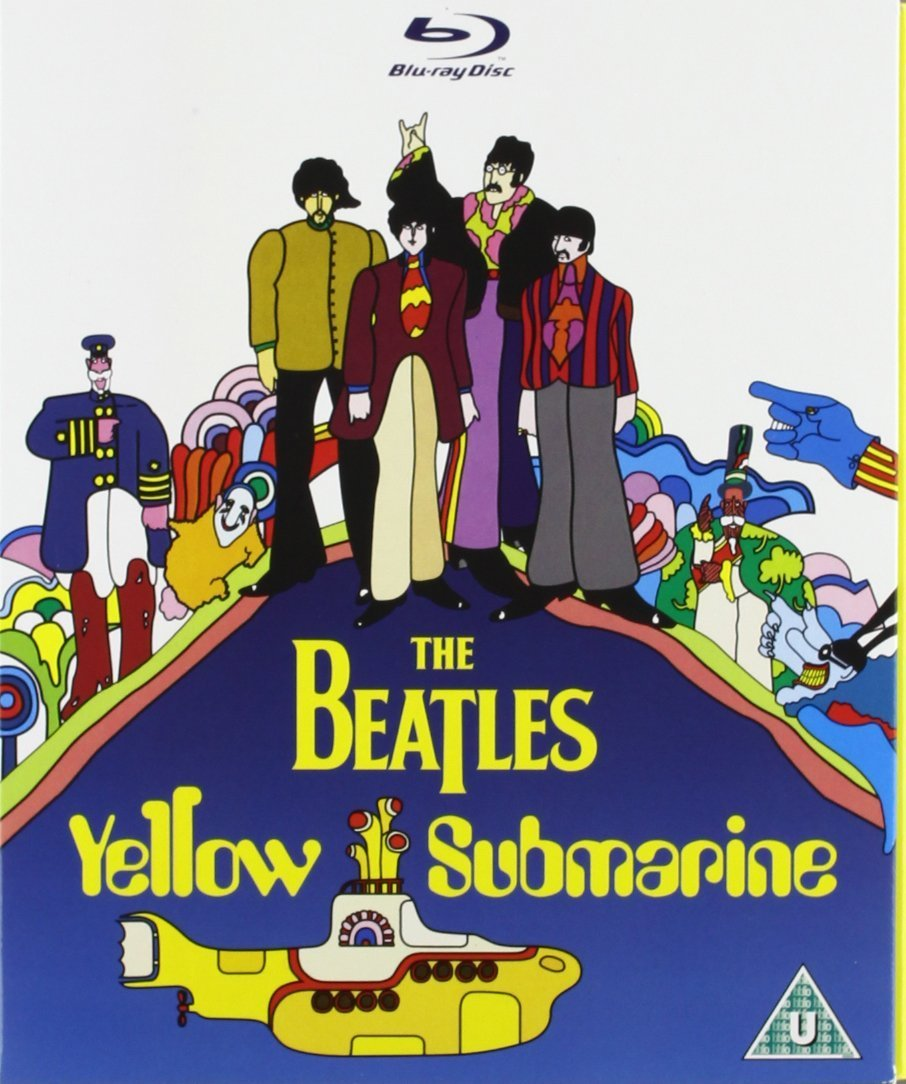 Yellow submarine the movie restored ltd.ed. : amazon.it: beatles