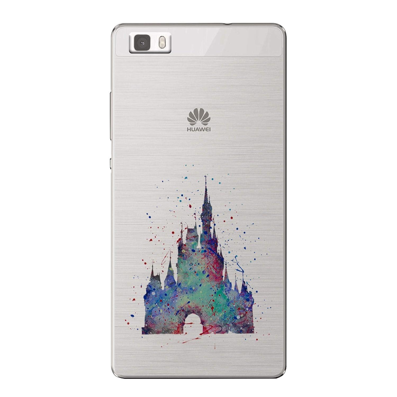 Amazon.com: Huawei P8 Lite Fan Art Silicone Phone Case/Gel ...