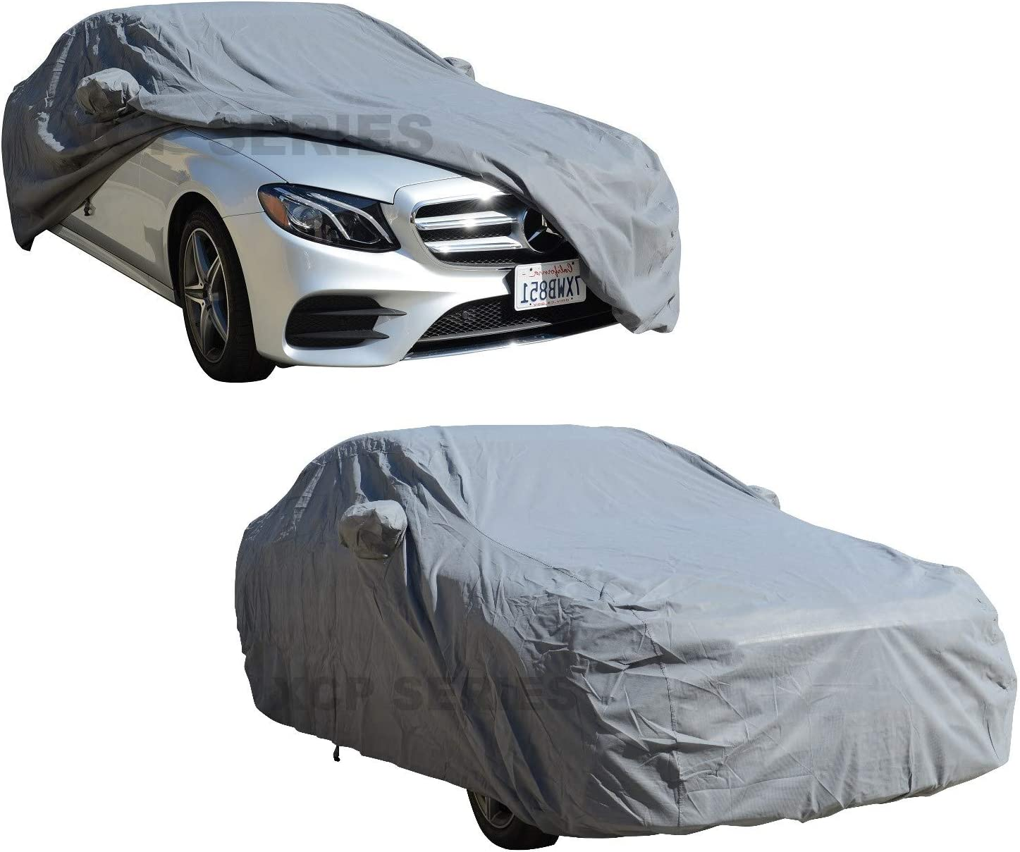 MERCEDES S-CLASS COUPE INDOOR OUTDOOR FULLY WATERPROOF CAR COVER COTTON LINED