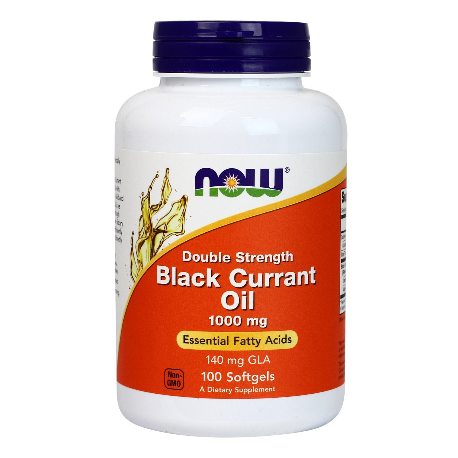 Now Foods Black Currant Oil 1000 mg - 100 Softgels 6 Pack
