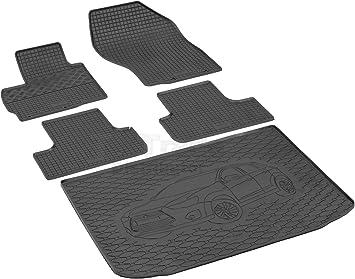 Passende Gummimatten Und Kofferraumwanne Set Geeignet Für Mitsubishi Asx Ab 2010ein Satz Gurtschoner Auto