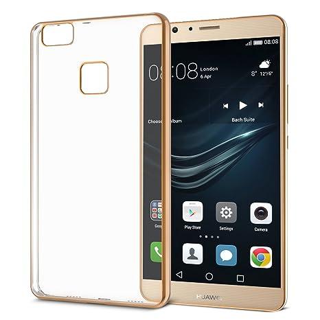 Funda Huawei P9 Lite (2 Unidades) OMOTON P9 Lite Carcasa 5.2 ...