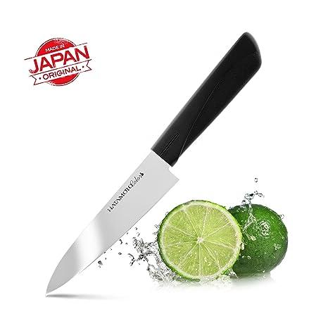 HATAMOTO Cuchillo Japones - Cuchillos de Cocina Profesionales - Acero Inoxidable - Cuchillo Multiuso para Carne Pescado y Verduras - Cuchillo ...