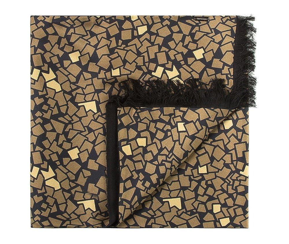 Wittchen Schal | Farbe: Gold | Seide | Größe: 164 x 31 Cm | Sammlung: Tücher und Schals | 83-7M-S41-X2