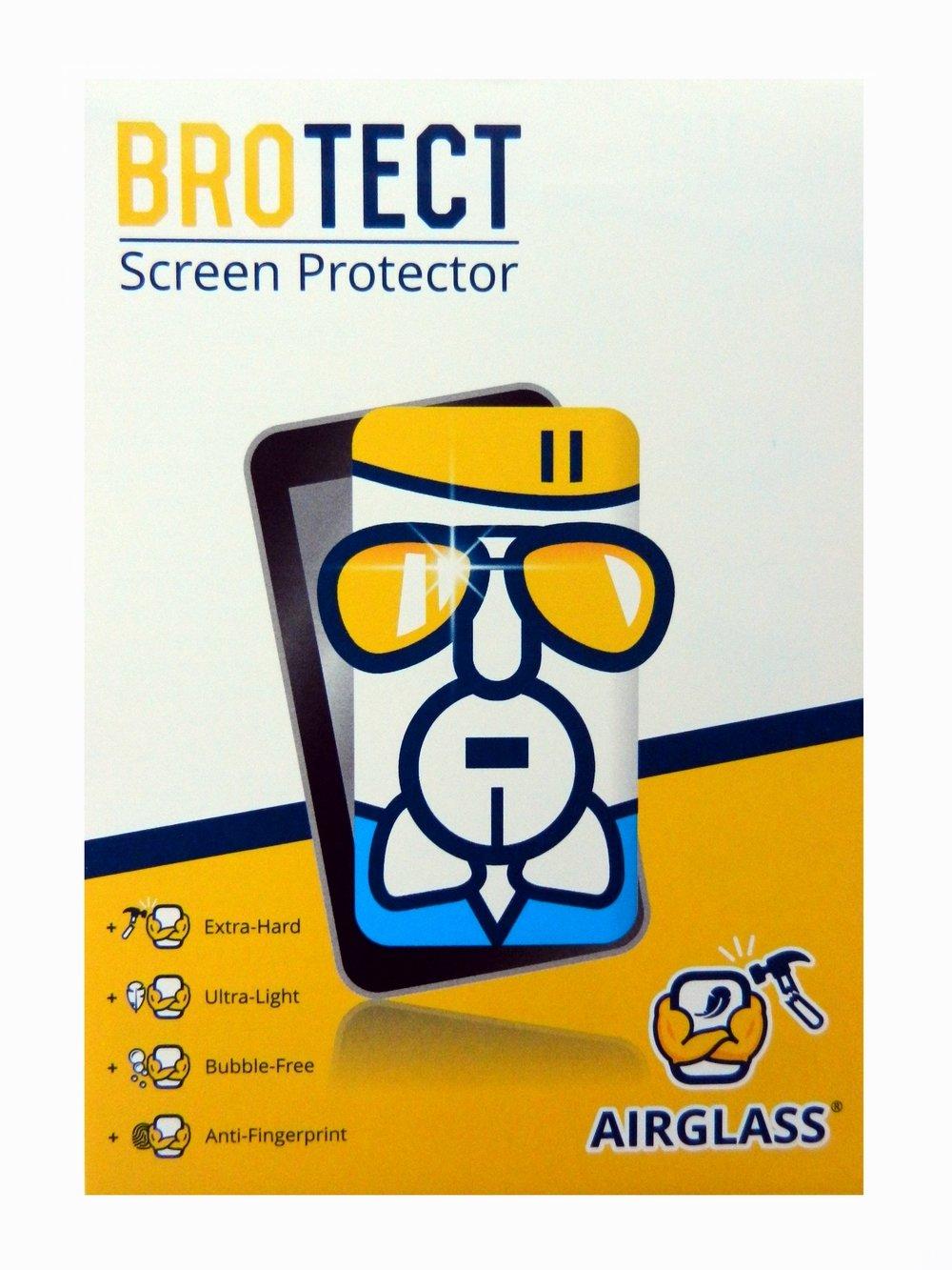 Extrahart BROTECT Ultraleicht Glas Schutzfolie AirGlass Premium Glasfolie passgenau f/ür Touch Panels mit 15.6 Zoll Displays 345 mm x 194 mm, 16:9