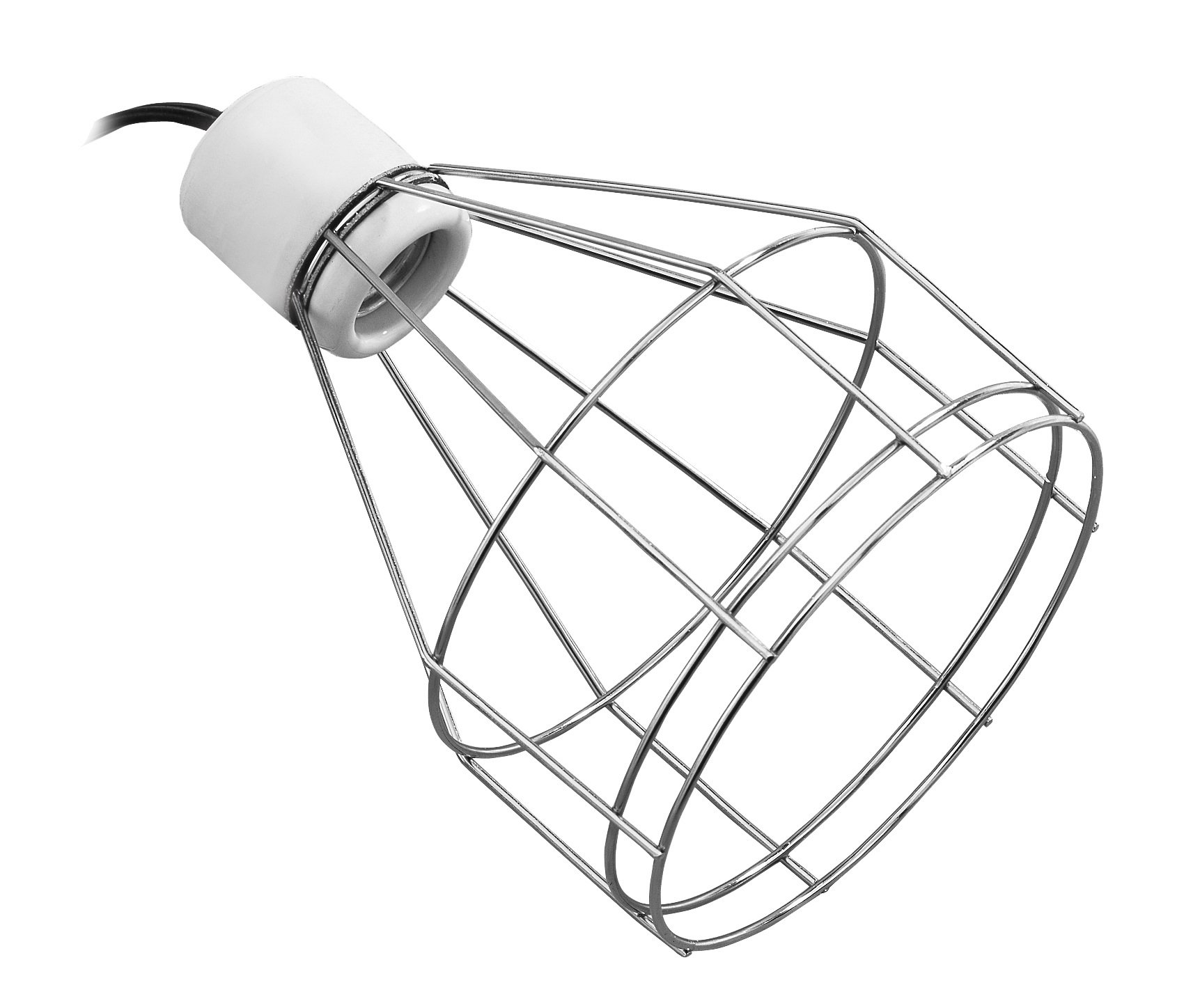 Exo Terra Porcelain Clamp Lamp, Small
