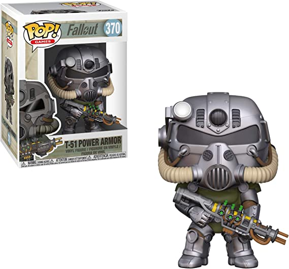 Funko- Pop Vinyl: Games: Fallout S2: T-51 Power Armor Figura Coleccionable, Multicolor, Talla única (33973): Amazon.es: Juguetes y juegos