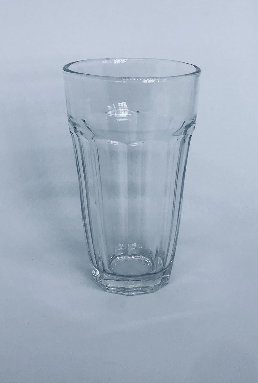 10 oz, Height: 5 1//4 STILUX 10 oz Cooler-Glass