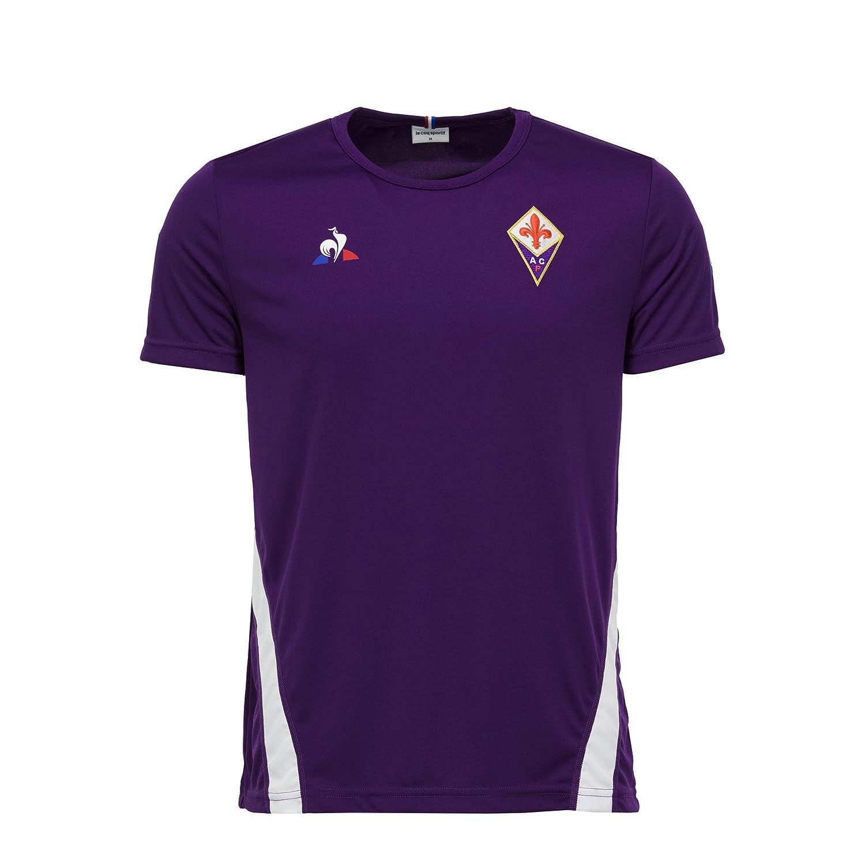 Le COQ Sportif Fiorentina Training tee SS JR 12 años: Amazon.es ...