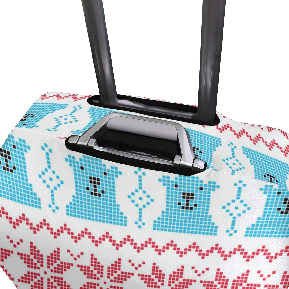 GIOVANIOR Polar Bear Luggage Cover Suitcase Protector Carry On Covers