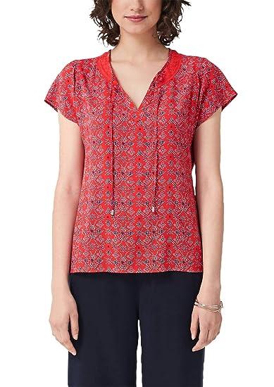 s.Oliver Camicetta Donna Rosso Abbigliamento Camicie