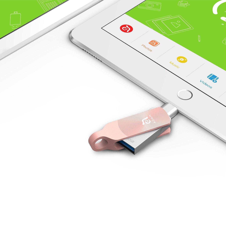 128gb Iklips Duo Iphone Usb 31 Dual Lightning Adam Element Apple Flash Drive 64gb Red External Storage Memory Mfi Certified Share Between Ios Mac Pc