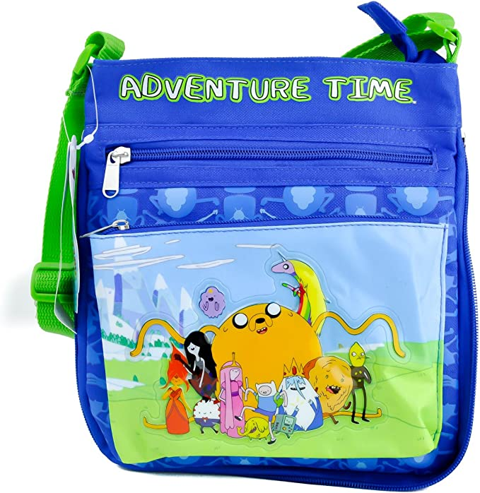 Adventure Time Handmade Small pouch with zipper and key ring Cartoon Network| Finn the Human Ready to ship! Jake the Dog