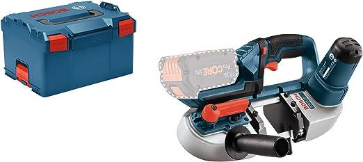 Couleur Bosch Professional 06012A0400 18V System scie /à Ruban sans-Fil GCB 18V-63 Size