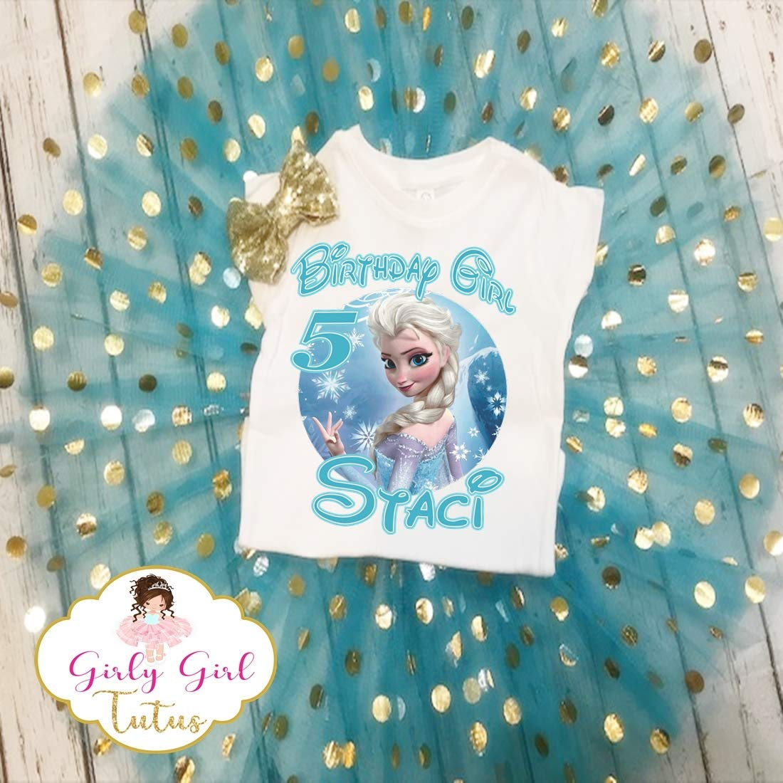 Elsa Birthday Tutu Elsa Birthday Outfit Frozen Elsa Birthday Outfit