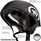 MONATA Skateboard Helmet with CPSC Certified for