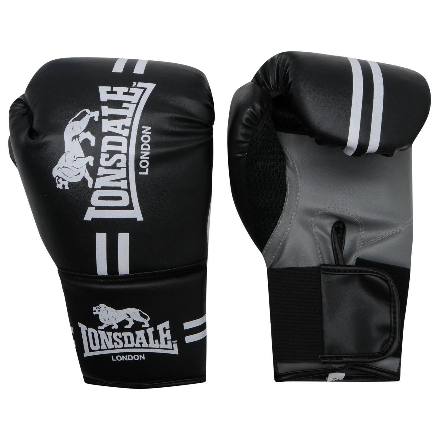 Lonsdale Contender Guantes Boxeo Kick Mma Hand Wraps Mitones Fight Entrenar