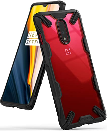 reputable site f4df1 65354 Ringke Fusion-X Designed for OnePlus 7 Case Impact Resistant Protection  Cover for OnePlus 7 (6.4