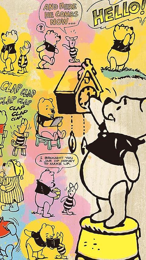 ディズニー コミックアート・プー XFVGA(480×854)壁紙 画像61549 スマポ