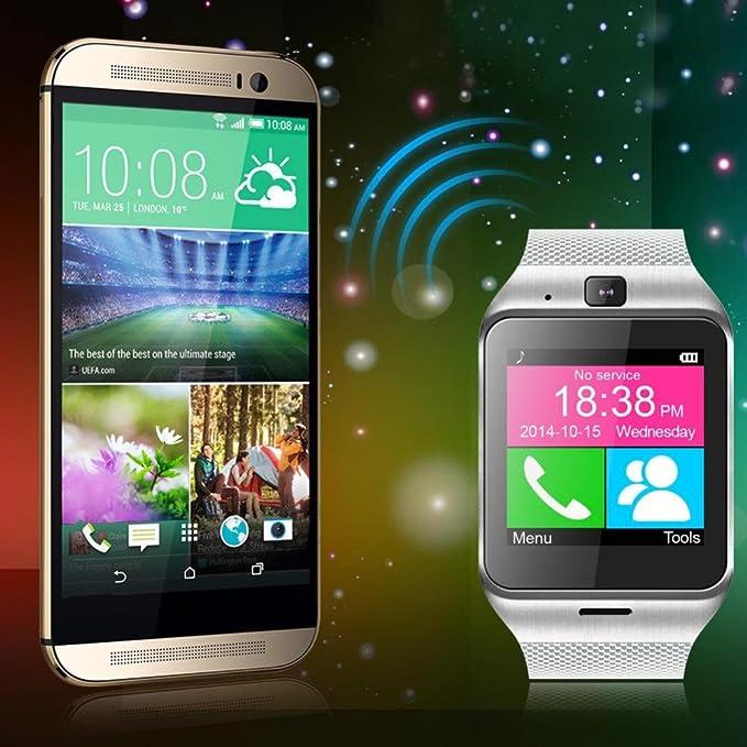 Amazon.com: NFC Aplus GV18 Smart bluetooth watch with Camera ...