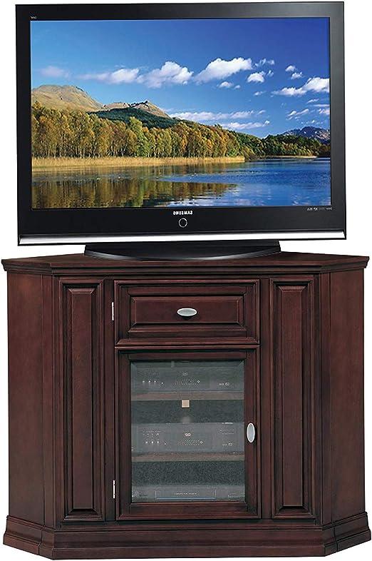 Lеick Furniturе Deluxe Premium Collection Riley - Mueble esquinero para televisor de 46