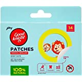 Good Knight Patches Personal Mosquito Repellent (14 Patches)