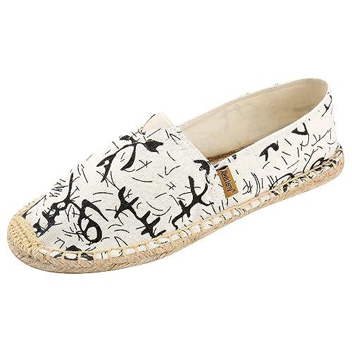 Alexis Leroy Doodle, Alpargatas para Mujer Beige 37 EU: Amazon.es: Zapatos y complementos