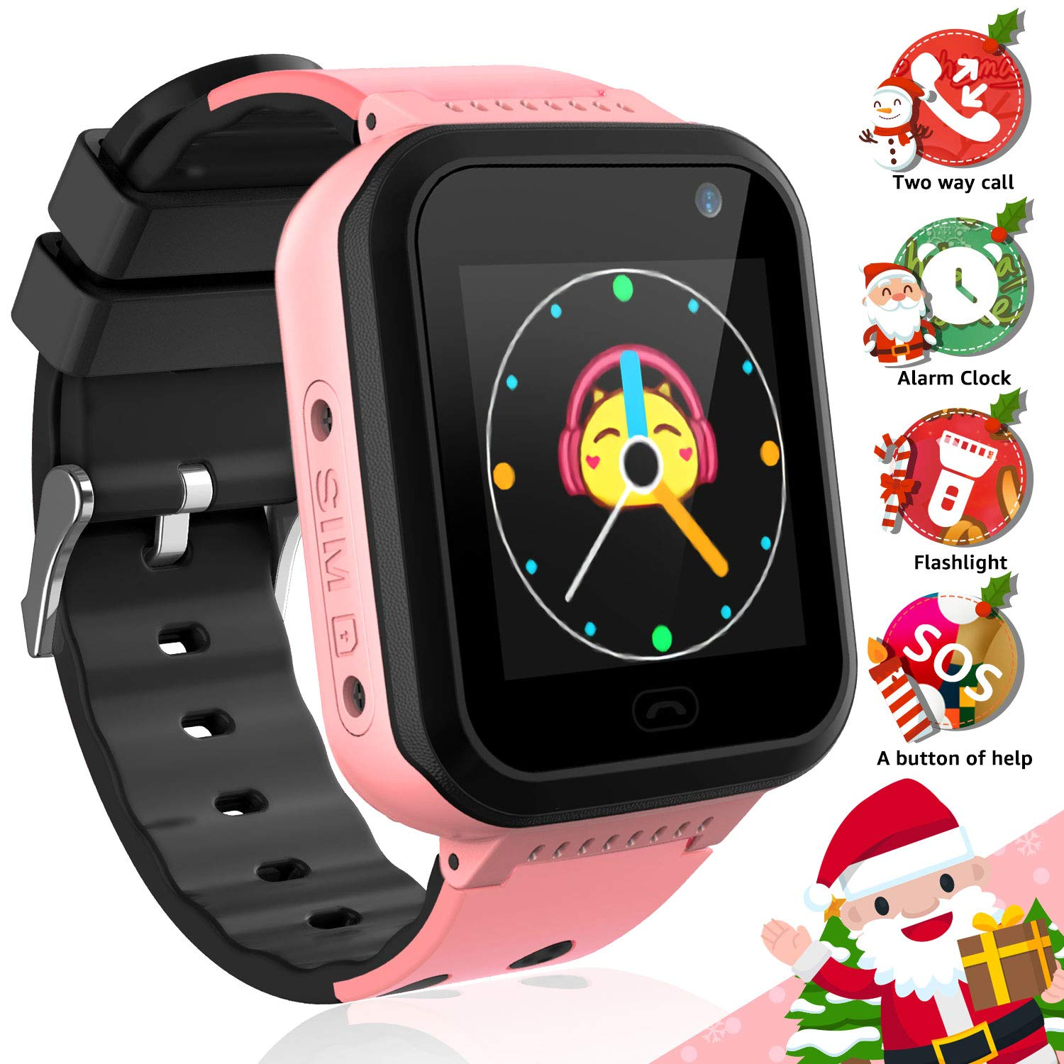 Amazon.com: YENISEY Kids Smart Watch Waterproof Phone, IP67 ...