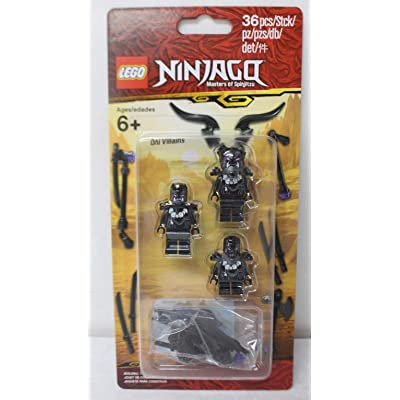 Ninjago Masters of Spinjitzu Lego Villain Minifigure Pack 853866 36 Pieces: Toys & Games