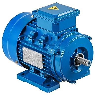 Mophorn Motor Trifasico Eléctrico 3 Fases B3 1500PRM para ...