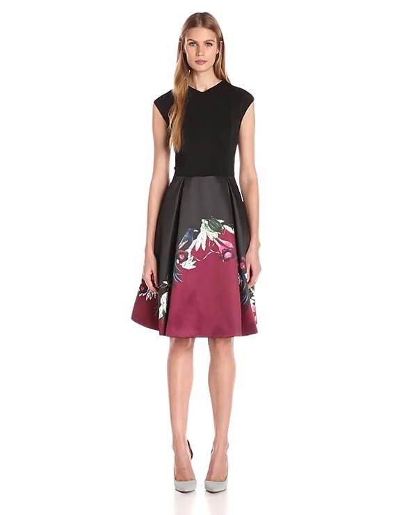 Amazon.com: Ted Baker Women\'s Mhia bejewelled Shadows Full Dress ...