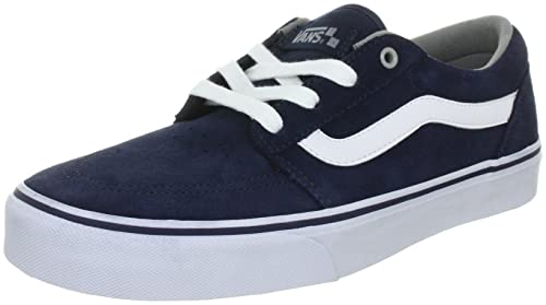 08f0cf02acbf65 Vans Mens Collins Trainers Blue Blau (navy mid grey white) Size  41 ...