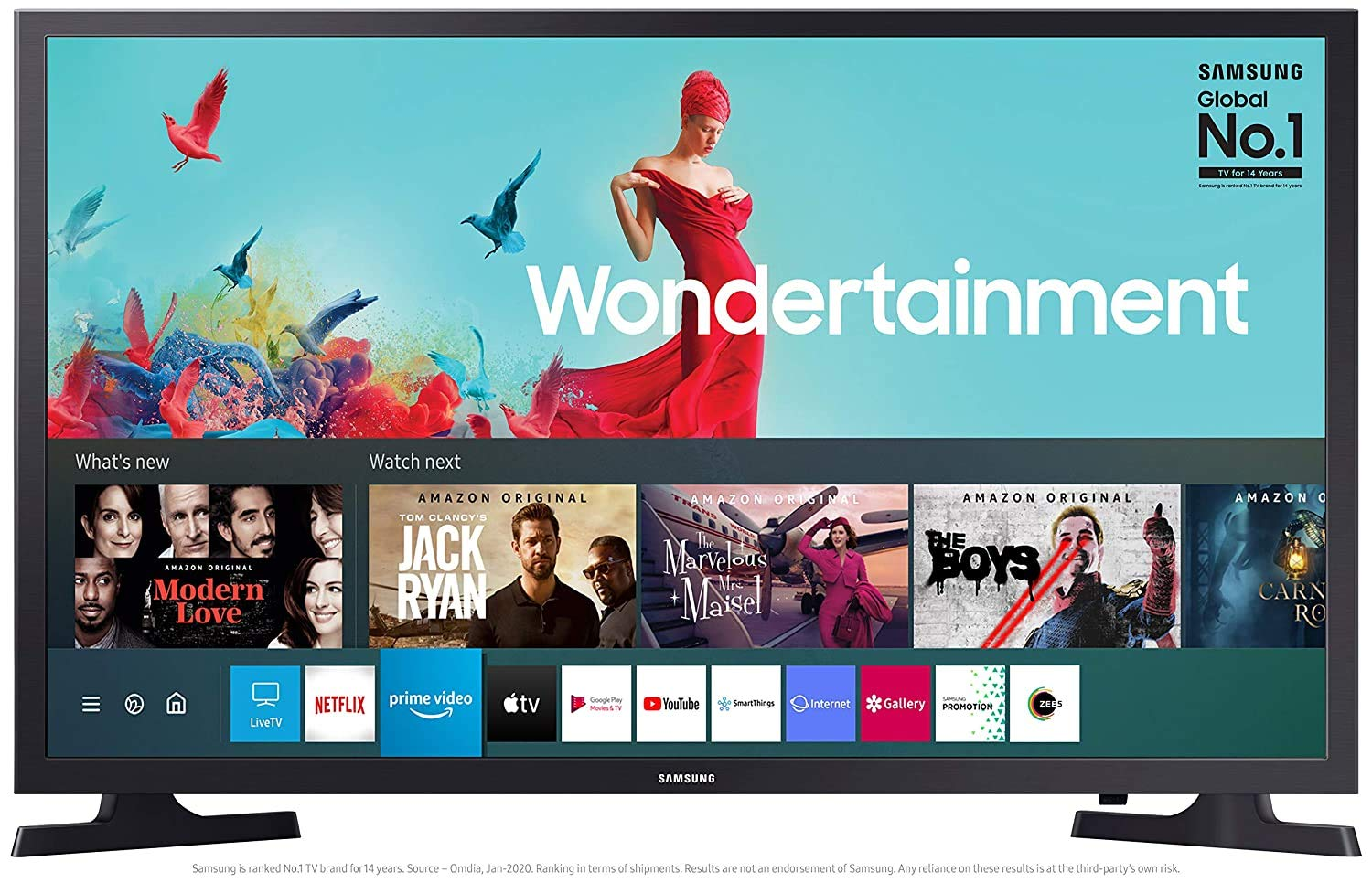 Samsung 32inch smart tv ( Voice Remote )