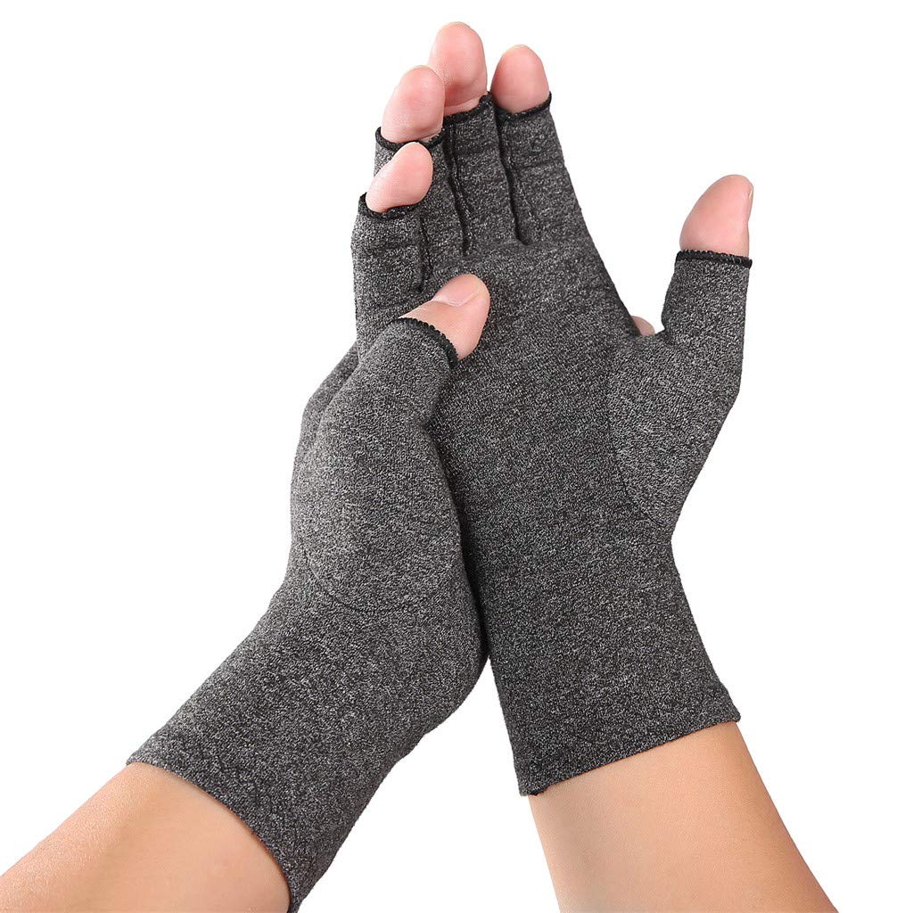 kitt Arthritis Gloves Open Finger Design Men Women Rheumatoid Compression Hand Glove for Osteoarthrit